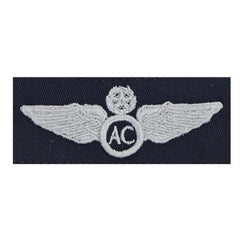 Civil Air Patrol Insignia: Master Aircrew wings cloth (New Insignia)