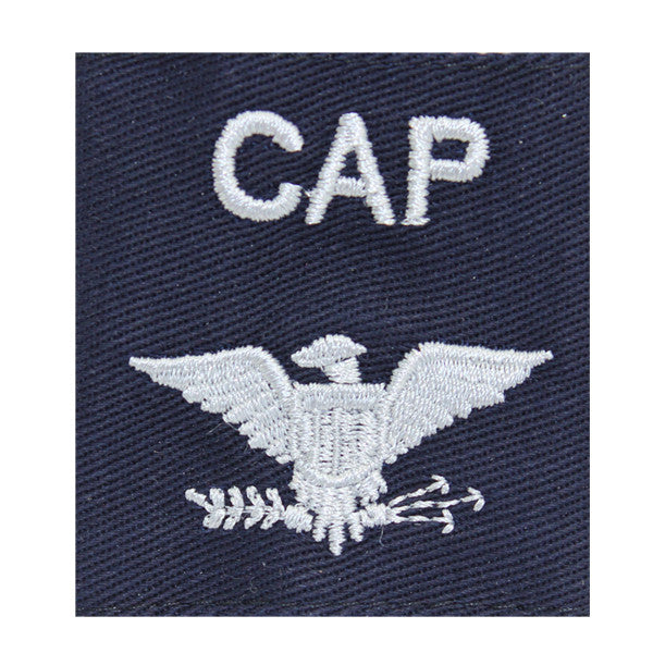 Civil Air Patrol Gortex Jacket Tab: Colonel (New Insignia)