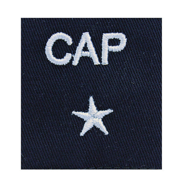 Civil Air Patrol Gortex Jacket Tab: 1 Star General (New Insignia)