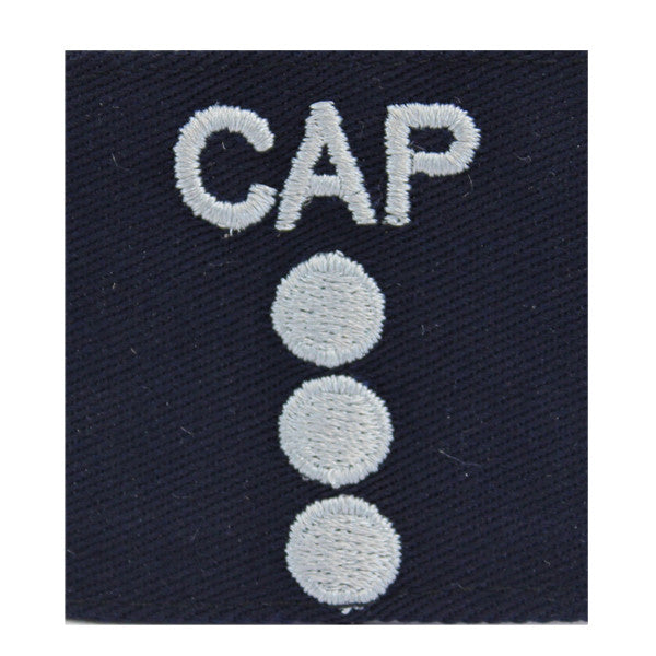 Civil Air Patrol Gortex Jacket Tab: Cadet Captain (New Insignia)