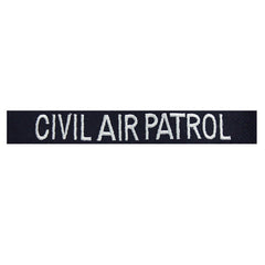 Civil Air Patrol Tape: Embroidered Civil Air Patrol (New Insignia)