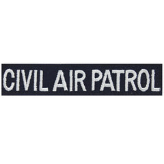 Civil Air Patrol Tape: Civil Air Patrol with black hook closure (New Insignia)