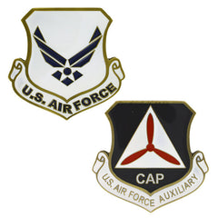 Civil Air Patrol: CAP/USAF Aux Shield Coin