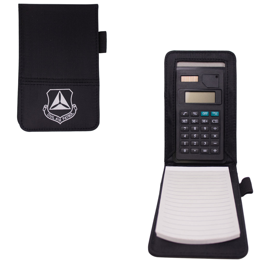 Civil Air Patrol Watch Book: Notepad, pen, calculator