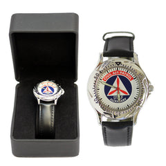 Civil Air Patrol Watch: Executive Series - black leather band