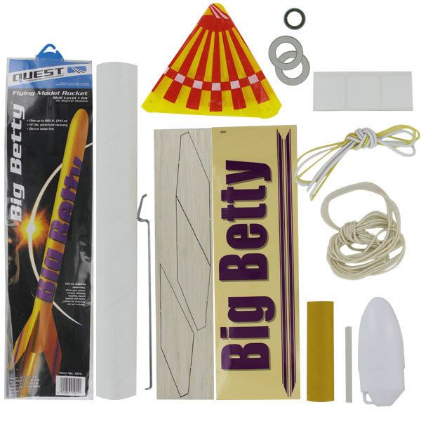 Civil Air Patrol Model Rocketry:  Big Betty