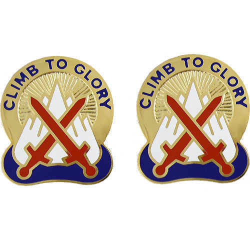 Army Crest: 10th Mountain Division - Climb to Glory