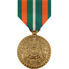 Full Size Medal: Coast Guard Achievement - anodized