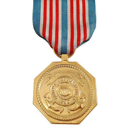 Full Size Medal: U.S. Coast Guard Medal for Heroism - anodized