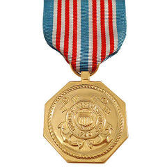 Full Size Medal: U.S. Coast Guard Medal for Heroism - 24k Gold Plated