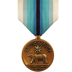 Full Size Medal: Coast Guard Arctic Service