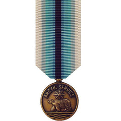 Coast Guard miniature Medal: Arctic Service