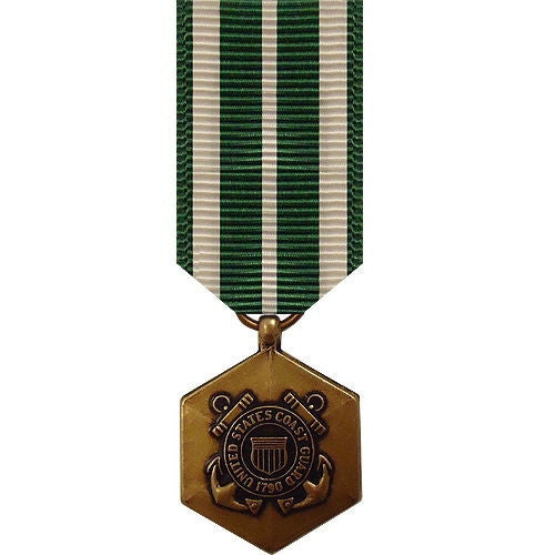 Coast Guard miniature Medal: Commendation