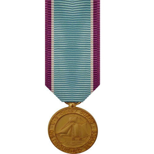Coast Guard miniature Medal: Distinguished Service
