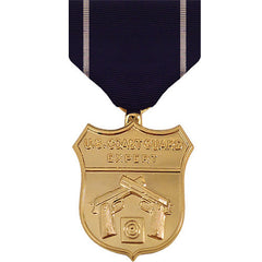 Full Size Medal: Coast Guard Expert Pistol - anodized