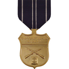 Full Size Medal: Coast Guard Expert Rifle - anodized