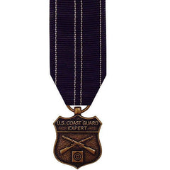 Coast Guard miniature Medal: Expert Rifle