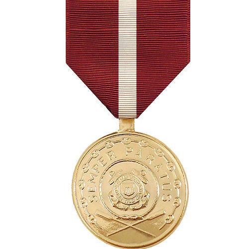 Full Size Medal: Coast Guard Good Conduct - anodized