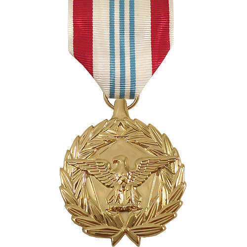 Full Size Medal: Defense Meritorious Service - 24k Gold Plated