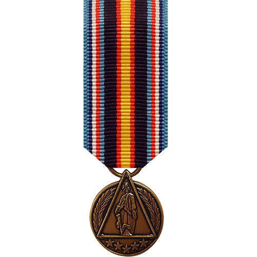 Miniature Medal: Global War on Terrorism Civilian Service DOD