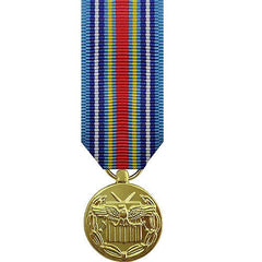 Minature Medal- 24k Gold Plated: Global War On Terrorism Expeditionary