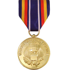 Full Size Medal: Global War on Terrorism Service - 24k Gold Plated
