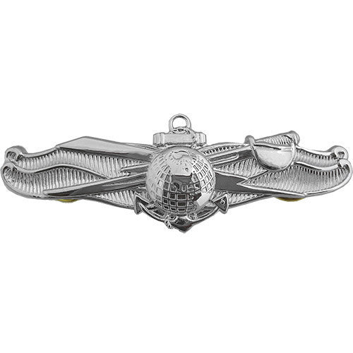 Navy Badge: Enlisted Information Dominance Warfare - miniature, mirror finish
