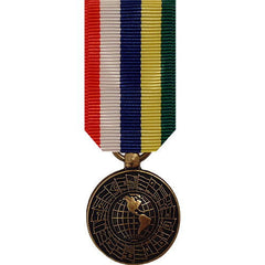 Miniature Medal: Inter American Defense Board