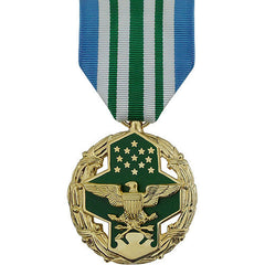 Full Size Medal: Joint Service Commendation - 24k Gold Plated