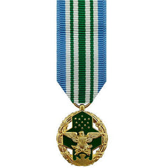 Miniature Medal: Joint Service Commendation - 24k Gold Plated