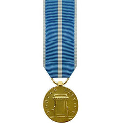 Miniature Medal: Korean Service - 24k Gold Plated