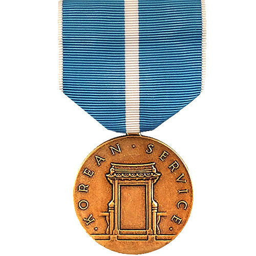 Full Size Medal: Korean Service