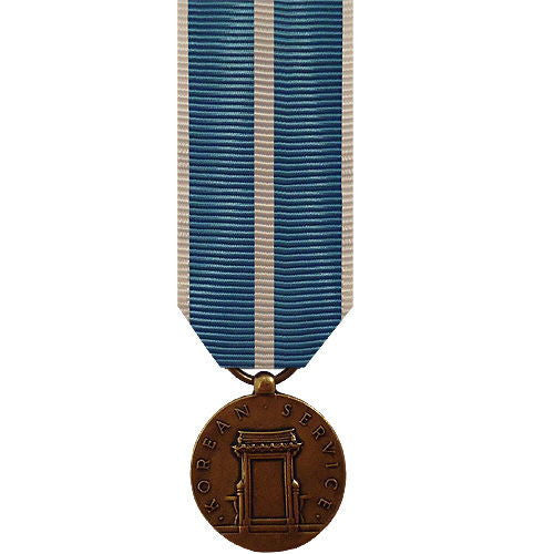 Miniature Medal: Korean Service
