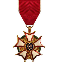 Full Size Medal: Legion of Merit - 24k Gold Plated