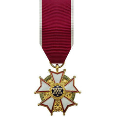 Miniature Medal: Legion Of Merit - anodized