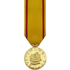 Miniature Medal- 24k Gold Plated: China Service Marine Corps