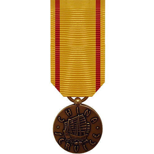 Marine Corps miniature Medal: China Service