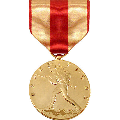 Full Size Medal: Marine Corps Expeditionary - 24k Gold Plated