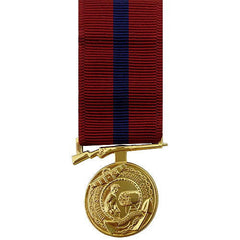 Marine Corps Miniature Medal: Good Conduct - 24k Gold Plated