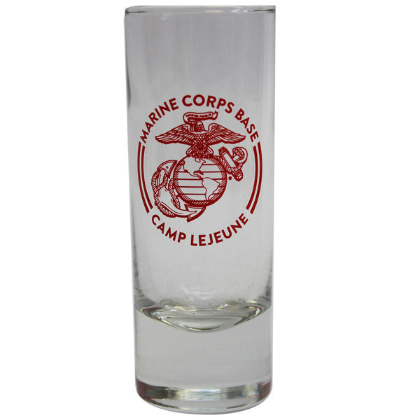 Shot Glass: Shooter 2.5oz Camp Lejeune