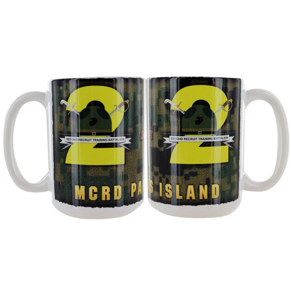 Marine Corps Mug -  Parris Island 2nd Recruit Battalion