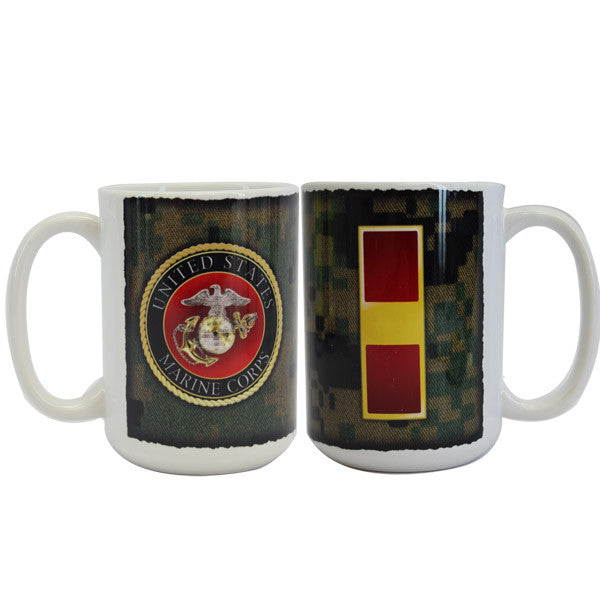 Marine Corps Mug -  Warrant Officer 1