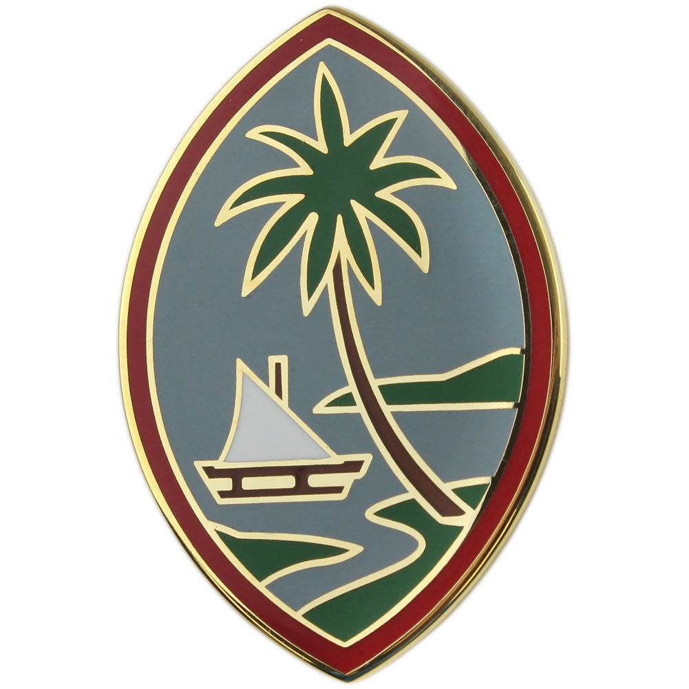 Army Combat Service Identification Badge (CSIB): Guam Army National Guard