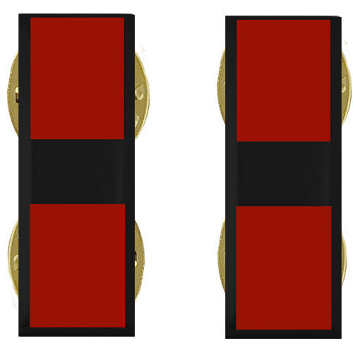 Marine Corps Collar Device: Warrant Officer 3 - black metal