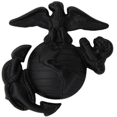 Marine Corps Service Cap Device: Enlisted