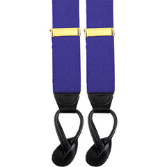 Army Suspenders: Aviation - leather ends