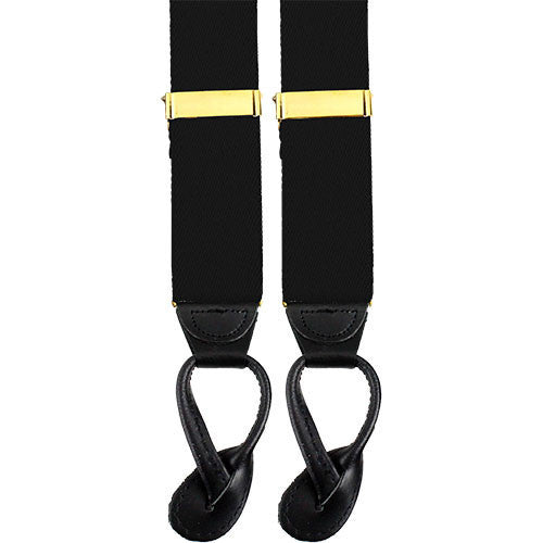 Army Suspenders: Chemical - leather ends
