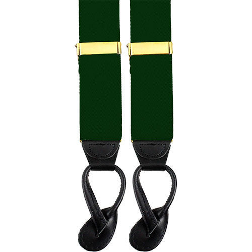 Army Suspenders: Military Police - leather ends