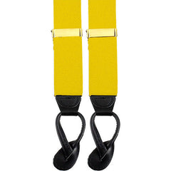 Army Suspenders: Armor - leather ends