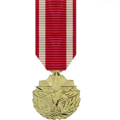 Miniature Medal: Meritorious Service - anodized